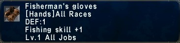 Fishermans Gloves