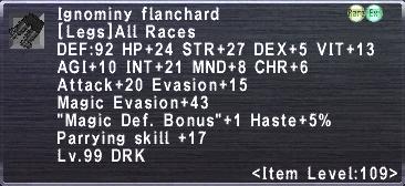 Ignominy Flanchard