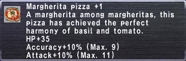 Margherita Pizza plus 1