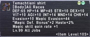 Temachtiani Shirt