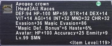 Apogee Crown