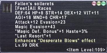 Fallen's Sollerets