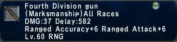 Fourth Division gun