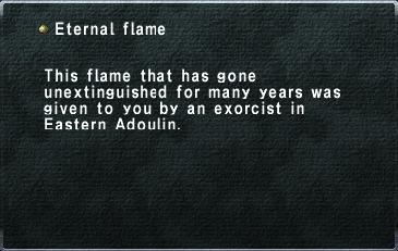 KI eternal flame