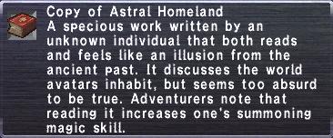 30 Astral Homeland