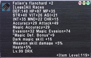 Fallen's Flanchard +2