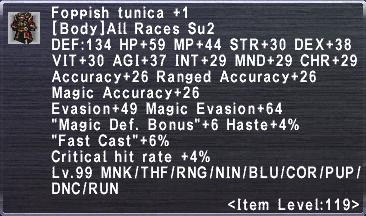 Foppish Tunica +1