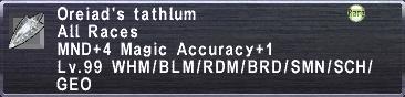 Oreiad's Tathlum
