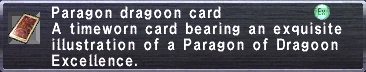Paragon Dragoon Card
