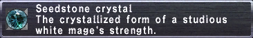 Seedstone Crystal
