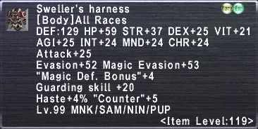 Sweller's Harness