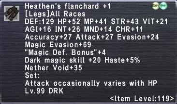 Heathen's Flanchard +1