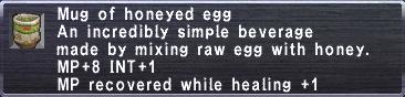 Honeyed egg