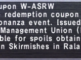 Kupon W-ASRW