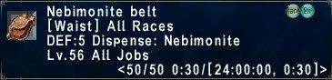 NebimoniteBelt