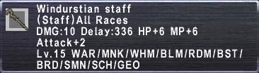 Windurstian staff
