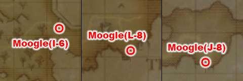 Anniversary MMO Collaboration Moogle Outdoor Locations