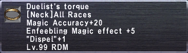 Duelist's Torque