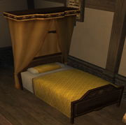 Yellow Nobles Bed
