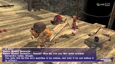 «FFXI-Movie» 0296 - A Generous General?