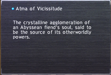 Atma of the Vicissitude