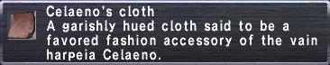 Celaeno's Cloth