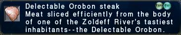 Delectable Orobon Steak