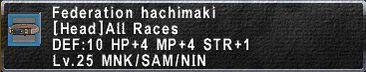 FederationHachimaki