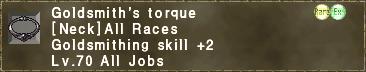 Goldsmith's torque