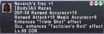 Navarch's frac +1