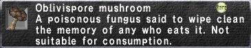 Oblivispore mushroom