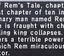 Rem's Tale Chapter 1