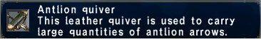 Antlion Quiver