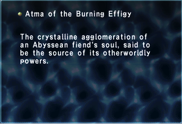 Atma of the Burning Effigy