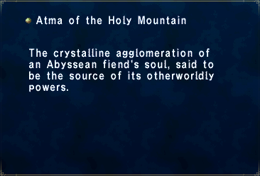 Atma of the Holy Mountain