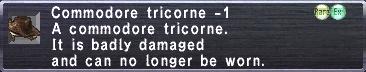 Commodore Tricorne -1