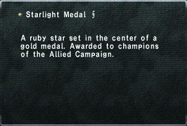 Starlight Medal