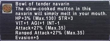 Tender Navarin