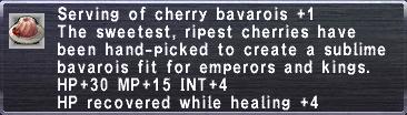 Cherry Bavarois +1