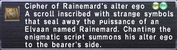 Cipher Rainemard