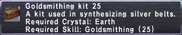 Goldsmithing Kit 25