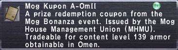 Kupon A-OmII