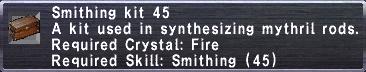 Smithing Kit 45