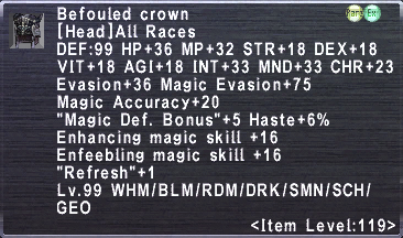 Befouled Crown