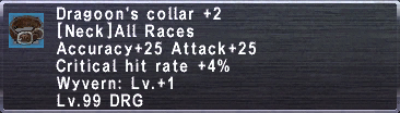 Dragoon's Collar +2