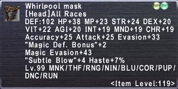 Whirlpool Mask