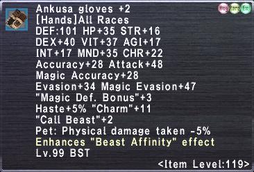 Ankusa gloves +2