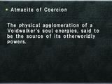 Atmacite of Coercion