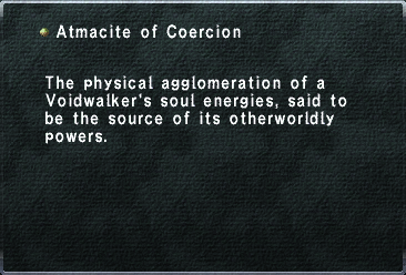 Atmacite of Coercion