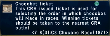 ChocobetTicket